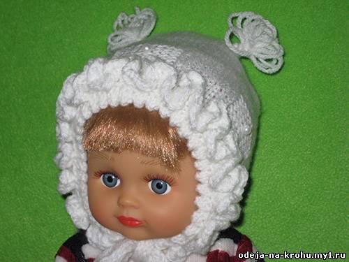 Все о вязании: Вязание Шапочки Для Новорожденного
